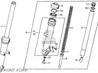 Honda Cm185t Twinstar 1979 Usa parts list partsmanual