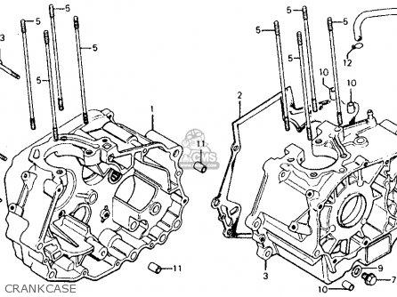 Honda Cm185t Twinstar 1979 (z) Usa parts list partsmanual