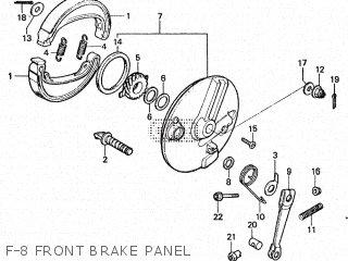 Honda CM200T 1980 (A) CANADA parts lists and schematics