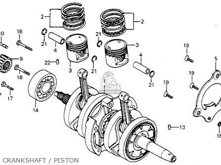Honda Cm200t Twinstar 1980 (a) Usa parts list partsmanual