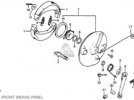 Honda CM200T TWINSTAR 1981 (B) USA parts lists and schematics