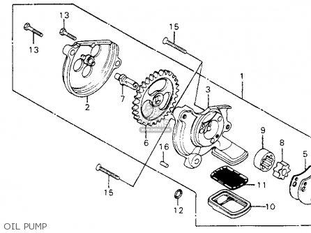 Honda CM200T TWINSTAR 1982 (C) USA parts lists and schematics
