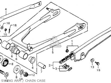 Honda Cm200t Twinstar 1982 Usa parts list partsmanual