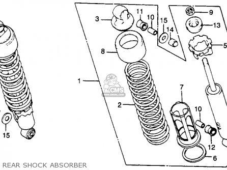 Honda CM250C CUSTOM 1982 (C) USA parts lists and schematics