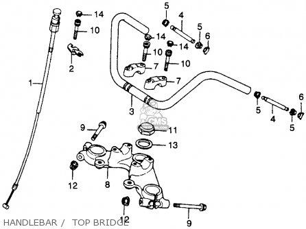 Honda CM250C CUSTOM 1983 (D) USA CALIFORNIA parts lists
