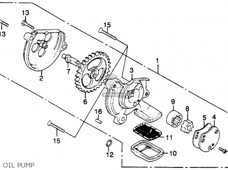 Honda Cm250c Custom 1983 (d) Usa California parts list