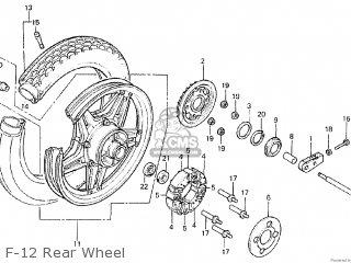 Honda CM400A 1980 (A) CANADA parts lists and schematics