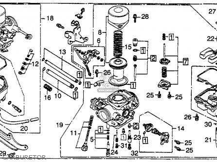 Honda Cm400e 1980 Usa parts list partsmanual partsfiche