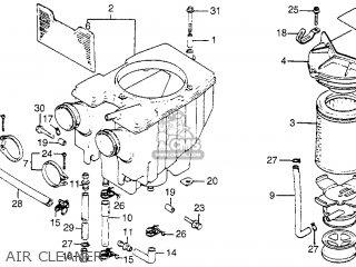 Honda CM400T 1979 (Z) USA parts lists and schematics