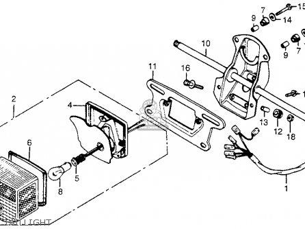 Honda Cm400t 1979 (z) Usa parts list partsmanual partsfiche