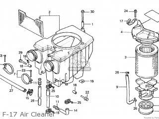 Honda CM400T 1980 (A) CANADA parts lists and schematics