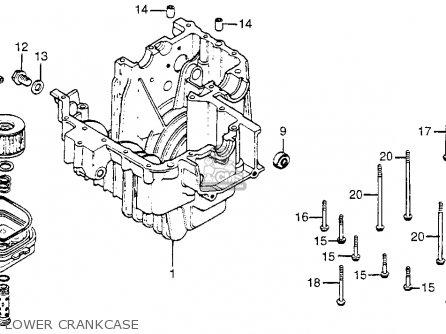 Honda Cm400t 1980 (a) Usa parts list partsmanual partsfiche
