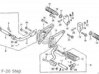 Honda CM400T 1981 (B) CANADA parts lists and schematics