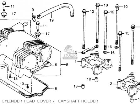 Honda Cm400t 1981 Usa parts list partsmanual partsfiche