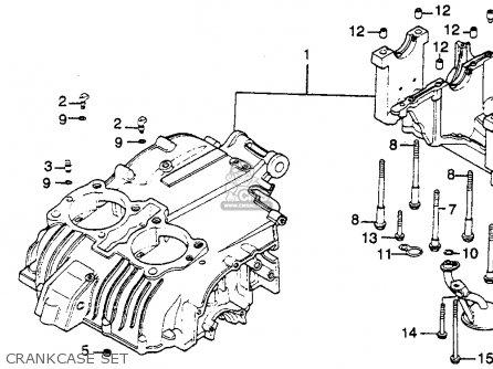 Honda Cm450c 1982 (c) Custom Usa parts list partsmanual