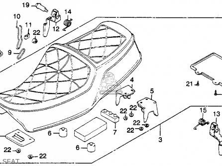 Honda CM450E 1983 (D) USA parts lists and schematics