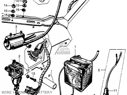 Honda CM91 1966 USA parts lists and schematics
