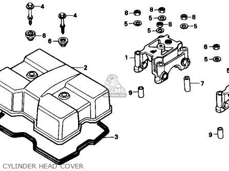 Honda CMX250C REBEL 1985 (F) USA CALIFORNIA parts lists