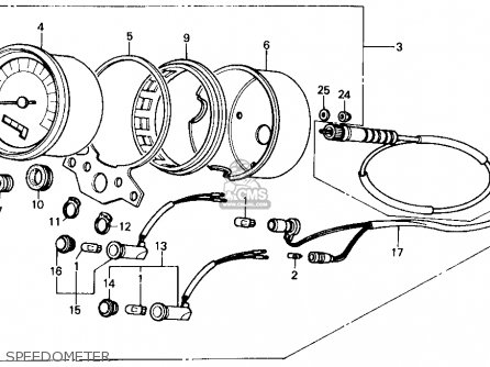 Honda Cmx250c Rebel 1986 (g) Usa California parts list