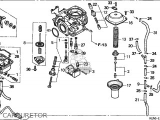 Honda Cmx250c Rebel 1996 Canada parts list partsmanual
