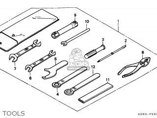 Honda CMX250C REBEL 1996 (T) CANADA parts lists and schematics