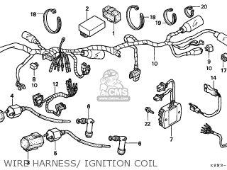 Honda Cmx250c Rebel 1996 (t) Canada parts list partsmanual