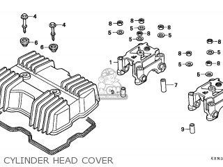 Honda Cmx250c Rebel 1996 (t) England parts list