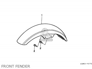Honda CMX250C REBEL 1996 (T) ENGLAND parts lists and