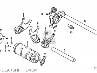 Honda CMX250C REBEL 1996 (T) ITALY / KPH parts lists and