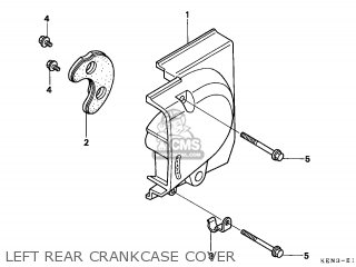 Honda Cmx250c Rebel 1996 (t) Netherlands / Kph parts list
