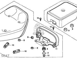 Honda CMX250C REBEL 1997 (V) CANADA parts lists and schematics