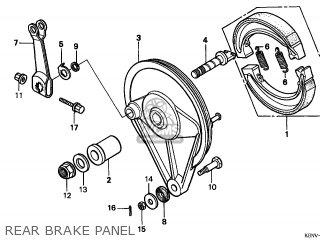 Honda CMX250C REBEL 1997 (V) GERMANY / KPH parts lists and