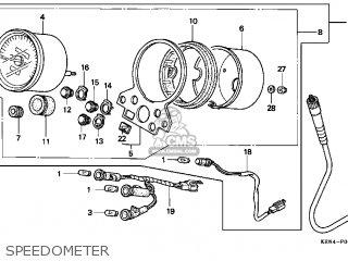 Honda CMX250C REBEL 1997 (V) USA CALIFORNIA parts lists