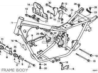 Honda Cmx250c Rebel 1999 (x) Switzerland parts list