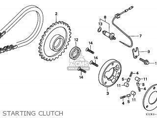 Honda CMX250C REBEL 2002 (2) CANADA parts lists and schematics
