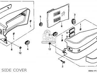 Honda Cmx250c2 Rebel 1999 (x) Usa California parts list