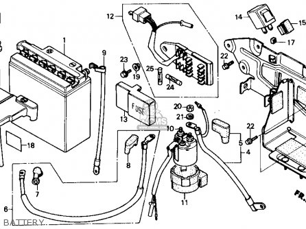 Honda Cmx250cd Rebel 250 Ltd 1986 (g) Usa parts list