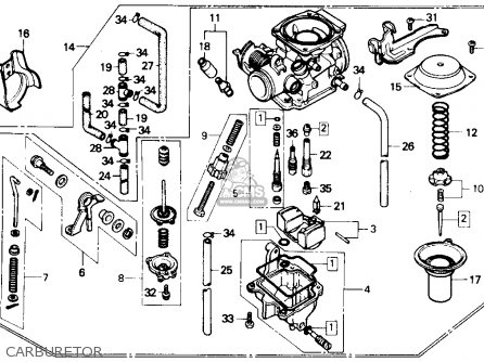 Honda Cmx250cd Rebel 250 Ltd 1986 Usa parts list