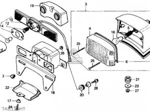 Honda Cmx250cd Rebelltd 1986 (g) Usa California parts list partsmanual partsfiche