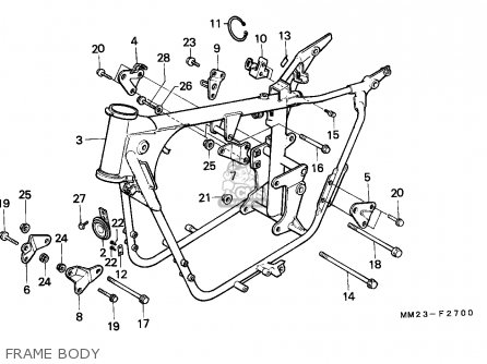 Honda Cmx450c Rebel 1986 (g) Canada / Mkh parts list