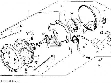 Honda CMX450C REBEL 1986 (G) USA CALIFORNIA parts lists
