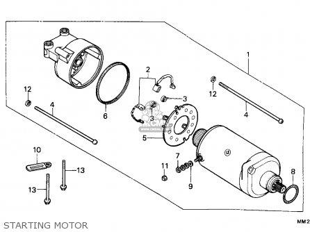 Honda CMX450C REBEL 1988 (J) AUSTRIA / KPH parts lists and