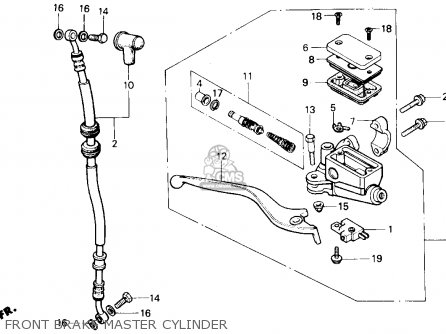 Honda Cmx450c Rebel 450 1987 Usa parts list partsmanual