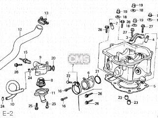 Honda CN250 FUSION 1993 (P) JAPAN MF02-140 parts lists and