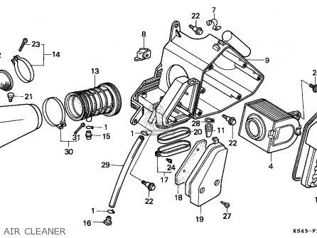 Honda Cn250 Helix 1986 (g) Canada / Kph parts list