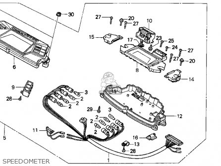 Honda CN250 HELIX 1986 (G) USA parts lists and schematics