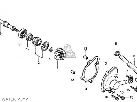 Honda Cn250 Helix 1986 (g) Usa parts list partsmanual