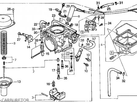 Honda Cn250 Helix 1986 Usa parts list partsmanual partsfiche