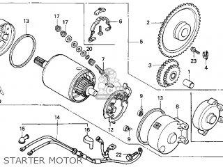 Honda Cn250 Helix 1987 Usa parts list partsmanual partsfiche