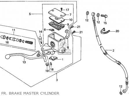 Honda CN250 HELIX 1988 (J) ITALY KPH parts lists and